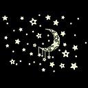 zidne naljepnice zidne naljepnice, mjesec i zvijezde uzorak noctilucence zidne naljepnice.