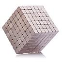 Magnetické hračky 343Pcs 5mm Magnetické hračky / Neodymové magnety exekutivní hračky puzzle Cube DIY hračky magnetické kuličky Růžová