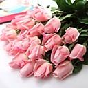 """Romantična umjetni bijeli ružičaste breskve crveni lateks porasla 6 komada / puno matičnih 14,95 """"za vjenčanja i party ukras"""