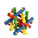 barevné dřevěné hračky korálky uniknout puzzle odemknout
