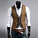 Prsluci - MEN - Dugi rukav - Formalan/Veći brojevi Pamučne mješavine/Polyester )
