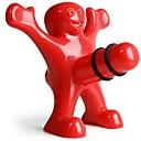 kreativní šťastný muži styl plastová láhev zátkou 9,5 * 8,5 * 5,5 cm (3,74 * 3,35 * 2,17 palce)