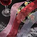 Jedna barva Organza Vjenčanje Vrpce Komad / set Organza Ribbon