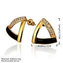 Naušnica Sitne naušnice Jewelry 2pcs Zlatno Žene Srebrna