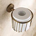 Držák na toaletní papír Vintage měď Na ze´d 160*95mm(6.29*3.74inch) Mosaz Vintage
