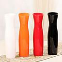 "11.8 ""Hモダンなスタイルの白いセラミック花瓶円筒花瓶"