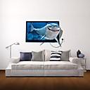 3D zidne naljepnice zidne naljepnice, morski pas dekor vinil zidne naljepnice