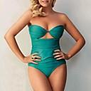 Žene Spandex Chinlon Ronilačko odijelo Bez rukava Kupaći kostimi-Plivanje Plaža Ljeto Jednobojni