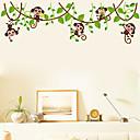 zidne naljepnice zidne naljepnice, stil malo majmuna penje na stablo PVC zidne naljepnice