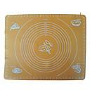 4-cのノンスティックシリコーンマットケーキパッドベーキングツールカラー黄色IM-11