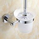 Suvremeni krom finiširanje mjedi materijal toaletni držač četkica