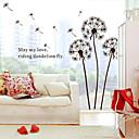 Veliki maslačak na vjetru dječjih soba prijenosnih dekorativne zidne naljepnice