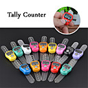 """0.8 """"LCD Electronic Digital 5-Digit Ring Tally Counter (1 x AG10)"""