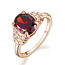 Prstenje Kristal / imitacija Ruby Birthstones Jewelry Prstenje sa stavom