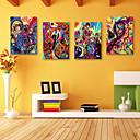 E-home® pruži platnu si apstraktno slikarstvo dekorativni set 4