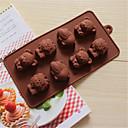 bakeware silikon Hippo lav cubs pečenje kalupi za čokoladu