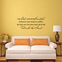 zidne naljepnice na zid naljepnice stil najbolje i najljepše stvari engleski riječi&citati PVC zidne naljepnice