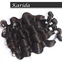 3 ks / lot peruánský tělo vlna vlasy, nezpracované tělo vlna 100% člověk peruánský panna vlasy