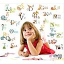 キッズルームのアルファベット保育園の装飾の壁のステッカーzooyoo877装飾リムーバブルPVCウォールステッカー