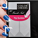 120pcs profesionalna izrada obrazac nail art alat (5x24pcs) # 04
