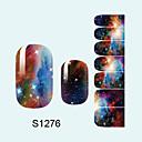Sažetak/Lijep - 3D Nail Naljepnice - za Prst - 10*7*0.1 - 1