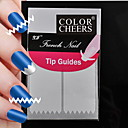 180pcs profesionalna izrada obrazac nail art alat (5x36pcs) # 07