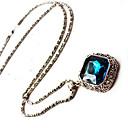 Novi dolazak fashional vruće prodaja retro geometrijska dragulj dugo ogrlica