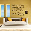 zidne naljepnice na zid naljepnice stil nesavršenost je beatuy engleskih riječi&citati PVC zidne naljepnice