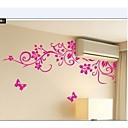 klasični crni cvijet vinove uređenje doma zid decal zooyoo954 dekorativne prijenosnih PVC zidne naljepnice