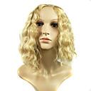 popularni modni u Europi i zlatna kosa simulacije ljudske kose perika