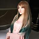 rovný dáma paruky vlasy cosplay syntetické vlasové paruky