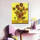 olejomalby jeden panel moderní slunečnice ručně malovaná plátna připraven k zavěšení