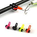 1枚のプラスチック簡単フックキーパールアーホルダーattacheable釣竿のアクセサリー