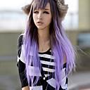 新しいスタイルの天然ウェーブヘアは合成二色波の髪の毛のかつらをかつら