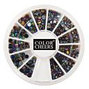 400pcs mixs veličina boji dijamant nail art ukrasa