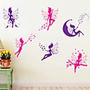 nástěnné samolepky lepicí obrazy na stěnu ve stylu cartoon duch PVC samolepky na zeď