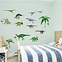 3d samolepky na zeď Lepicí obrazy na stěnu ve stylu dinosaurus PVC Wall Stickers