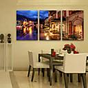 LEDキャンバスアート 風景 クラシック リアリズム,3枚 縦長 版画 壁の装飾 For ホームデコレーション
