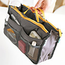 Ukládání make upu Kosmetická taška / Ukládání make upu Polyester Jednobarevné 30*8.5*18.5Black Fade / Grey Gradient / Hnědá / Šedá /