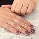 Prsteny s kamenem Slitina Nastavitelná minimalistický styl Módní Zlatá Stříbrná Šperky Párty 1ks