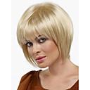 新しいかつら耐熱ファッション短い光金髪ストレートの女性のかつら