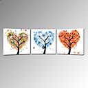 Vizuální prodej star®hot štěstí strom malířské plátno umění připraven k zavěšení