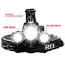 Osvětlení Světla na kolo LED Lumenů 4.0 Režim Cree XM-L T6 / Cree R2 18650 Voděodolný / DobíjecíKempování a turistika / Každodenní