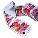 12 boja ruž sjajilo za šminkanje paleta (4 birati boje)