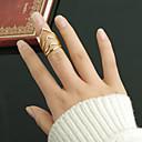 指輪 ファッション パーティー ジュエリー 合金 / ラインストーン 女性 バンドリング 1個,ワンサイズ ゴールデン