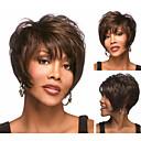 slobodni stil kratke ravne sintetičkih perika s bangs za žene sw0124