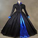 steampunk®victorian Tudor gotički satena haljina haljina pamuk punk Halloween kostim