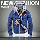 Ležérní Kapuce - Dlouhé rukávy - MEN - Coats & Jackets ( Bavlna / Směs bavlny )
