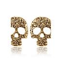 Sitne naušnice Moda Personalized Europska Legura Skull shape Pink Braon Jewelry Za 2pcs