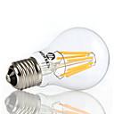 morsen®1pcs8ワットA60 E27は、屋内LED照明110 / 240Vのフィラメントランプフィラメント電球クリアな草エジソン電球を主導